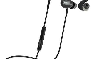 Nyhed ISOtunes PRO All Black Bluetooth støj-isolerende høretelefon - køb hos dækbutikken.dk