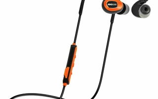 Nyhed ISOtunes PRO ORANGE Bluetooth støj-isolerende høretelefoner - køb hos dækbutikken.dk