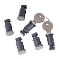 Låsesæt Atera med 6 låse og 2 nøgler
