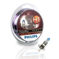 PHILIPS H1 VISIONPLUS (+60%) - 2-PAK