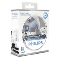 PHILIPS H1 WHITEVISION - 2-PAK