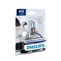 PHILIPS H3 WHITEVISION 12V 55W PK22S