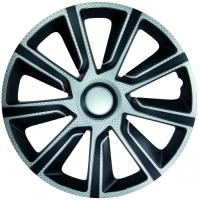 """Veron Carbon 13"""" hjulkapsler 4 stk sæt"""