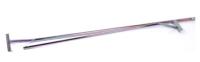 Presenningsbøjle 95-130 cm. Universal til de fleste trailers
