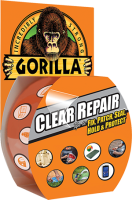 Gorilla Glue Clear Repair Tape 8 m, Vejrbestandig
