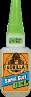 Gorilla Super Glue Gel 15 G, Tyktflydende og stærk