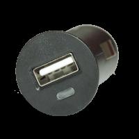 USB LADER MED 1 UDTAG 12/24V. 2,1 Amp.