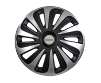 "Michelin Hjulkapsler 17"" Black  (4stk)"