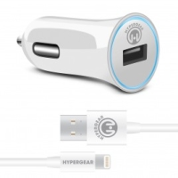 Naztech Hypergear USB 2,4A lader m. Lightning kabel