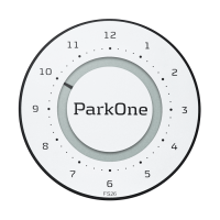 Park One 2 Alpine White