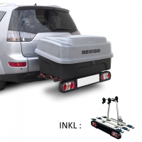 Tourbox - 330 liter bagagebox til montering bag på bilen