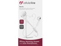 Cellularline earplugs med mikrofon og svarknap
