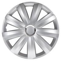 """Hjulkapsler Venture Pro Silver 16"""" 4 stk"""