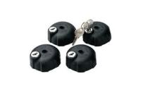 Thule Lockable Knob 527 4-pack