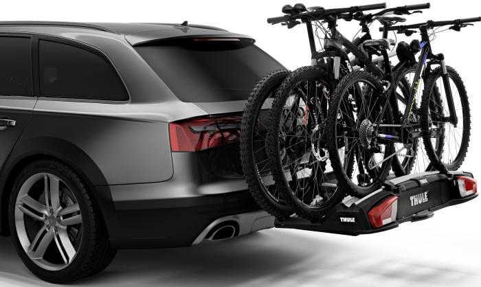 thule velospace xt 3 bike 13pin billigst hos d. Black Bedroom Furniture Sets. Home Design Ideas